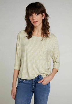 Oui - Bluse - lt grey yellow
