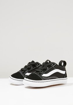 Vans - IN OLD SKOOL CRIB - Krabbelschuh - black/true white
