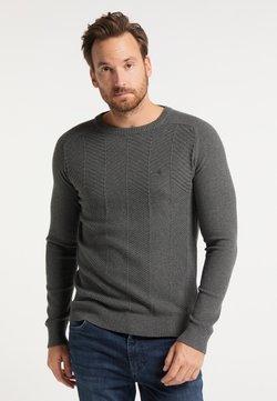 DreiMaster - Stickad tröja - dunkelgrau melange