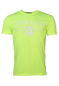 TOP GUN - T-shirt print - yellow