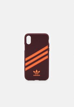 adidas Originals - Kännykkäpussi - maroon/solar orange