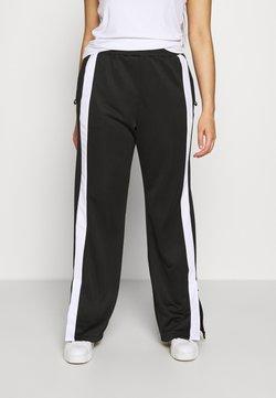 Fila Plus - SAMAH TRACK PANT - Jogginghose - black/bright white