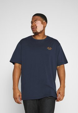 Jack´s Sportswear - CHEST EMBROIDERY TEE - T-shirt imprimé - navy
