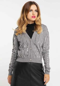 faina - Gilet - melange grey