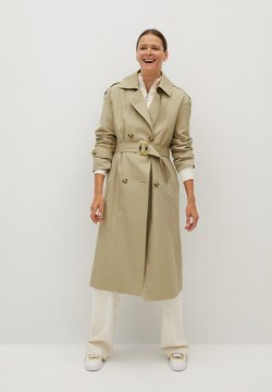 Mango - FEBRUARY - Trench - light/pastel grey