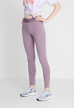 adidas Performance - ESSENTIALS SPORT INSPIRED COTTON LEGGINGS - Tights - purple