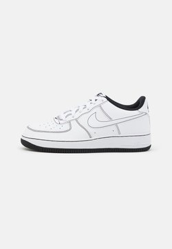 Nike Sportswear - AIR FORCE 1 UNISEX - Sneaker low - white/black