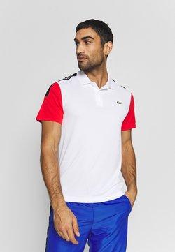 Lacoste Sport - TENNIS - T-shirt de sport - white/corrida black