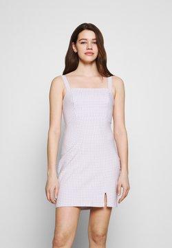 Hollister Co. - BARE STRUCTURED DRESS - Freizeitkleid - lavender