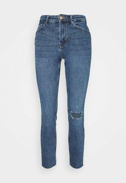 Pieces - PCLILI  - Slim fit jeans - medium blue