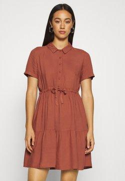 Vero Moda - VMDOLCA SHORT DRESS - Skjortekjole - marsala
