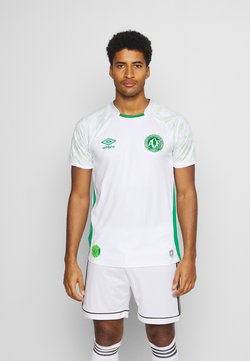 Umbro - CHAPOCOENSE AWAY - Klubtrøjer - white/green