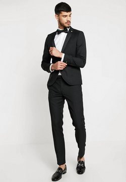 Twisted Tailor - HUNTER TUX SKINNY FIT - Suit - black