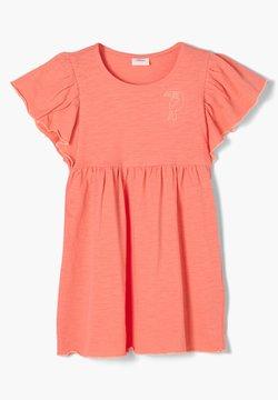 s.Oliver - FIL FLAMMÉ - Jerseykleid - light orange