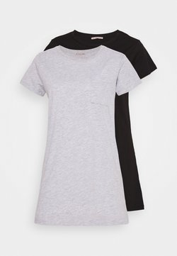 Anna Field - 2 PACK - Nachthemd - grey