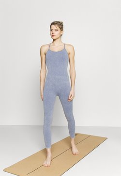 Cotton On Body - LIFESTYLE SEAMLESS YOGA ONESIE - Turnanzug - blue jay wash