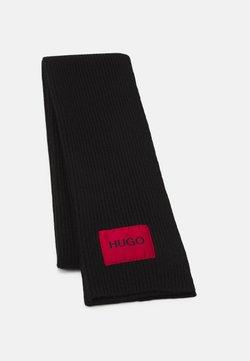 HUGO - ZAFF SCARF LOGO  - Schal - black