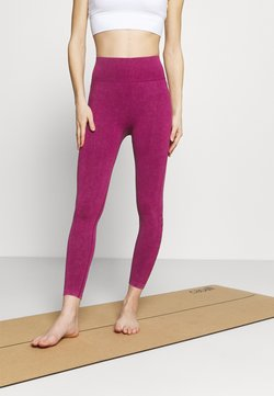 Cotton On Body - LIFESTYLE SEAMLESS 7/8 YOGA  - Tights - boysenberry wash