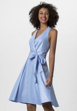 Apart - NECKHOLDER DRESS - Kjole - lightblue