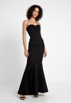 True Violet - LABEL SWEETHEART MAXI DRESS - Occasion wear - black