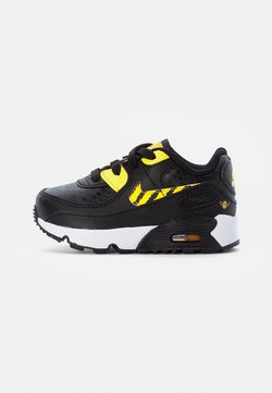 Nike Sportswear - NIKE AIR MAX - Sneakers laag - black/opti yellow-univ gold-citron pulse