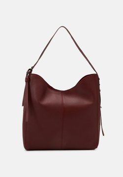 Zign - LEATHER - Handtasche - red