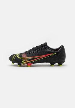 Nike Performance - MERCURIAL VAPOR 14 ACADEMY FG/MG - Voetbalschoenen met kunststof noppen - black/cyber/off noir