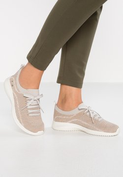 Skechers Sport - ULTRA FLEX - Loafers - taupe/gold/offwhite