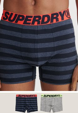 Superdry - 2PACK - Shorty - grey grit multipack