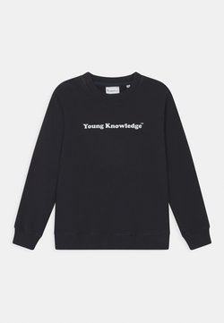 KnowledgeCotton Apparel - LOTUS YOUNG KNOWLEDGE - Sweater - total eclipse