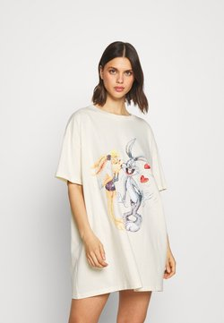 Cotton On Body - 90'S TSHIRT NIGHTIE - Nachthemd - white
