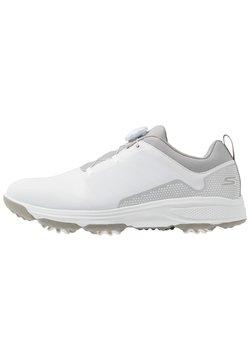 Skechers Performance - TORQUE TWIST - Golfkengät - white/gray