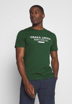Pier One - OSAKA TEE - T-shirt imprimé - green