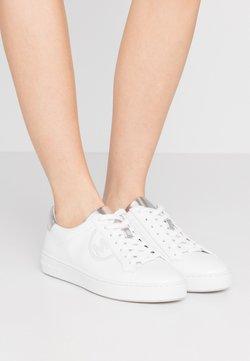 MICHAEL Michael Kors - KEATON LACE UP - Sneaker low - optic/silver