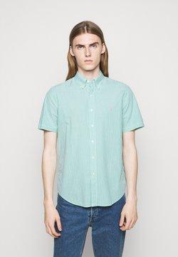 Polo Ralph Lauren - SEERSUCKER - Hemd - green/white