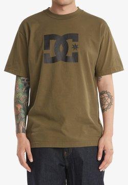 DC Shoes - STAR  - T-shirt print - ivy green