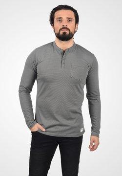 Solid - Langarmshirt - dark grey melange