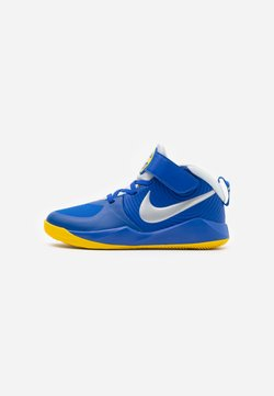 Nike Performance - TEAM HUSTLE 9 UNISEX  - Zapatillas de baloncesto - game royal/metallic silver/photon dust