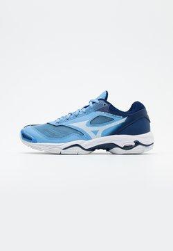Mizuno - WAVE PHANTOM 2 - Zapatillas de balonmano - dellar blue/white
