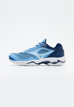 Mizuno - WAVE PHANTOM 2 - Handbalschoenen - dellar blue/white