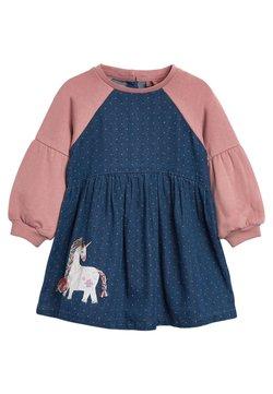 Next - Vestido vaquero - pink