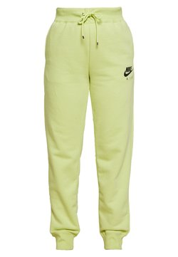 Nike Sportswear - AIR PANT - Jogginghose - limelight/ice silver