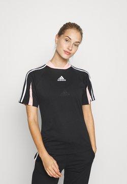 adidas Performance - TEE A.RDY - T-Shirt print - black
