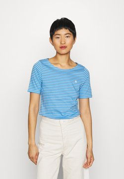 Marc O'Polo - SHORT SLEEVE ROUND NECK - T-Shirt print - multi/northern sky