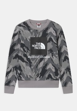 The North Face - YOUTH BOX CREW UNISEX - Sweatshirt - meld grey