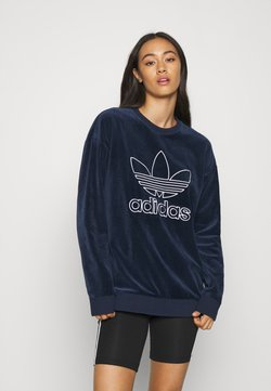 adidas Originals - CREW SPORTS INSPIRED  - Sweatshirt - collegiate navy/white