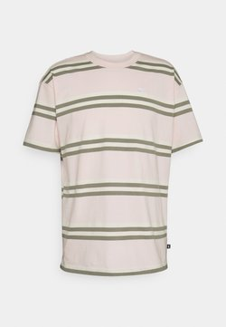 Nike SB - TEE STRIPE UNISEX - T-Shirt print - orange pearl