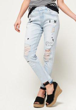 Superdry - Straight leg jeans - light blue