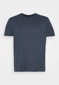 Pier One - T-shirt basic - mottled dark blue