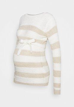MAMALICIOUS - SANDY  - Pullover - snow white